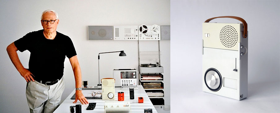 Dieter rams, and his designed products.