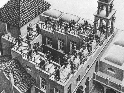 Ascending and Descending by Escher